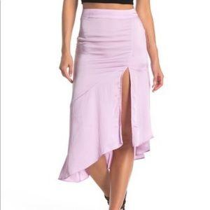 Free People Lola Asymmetrical Slit Skirt Size 2